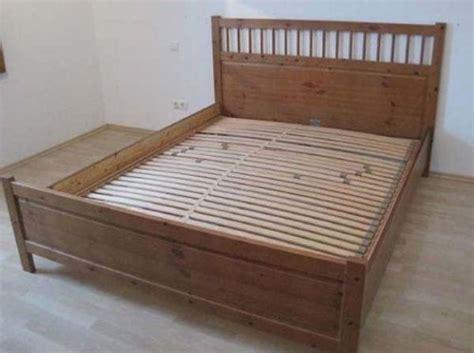 Ikea Bett Hemnes Übergröße Für 220cm Matratze Braun In