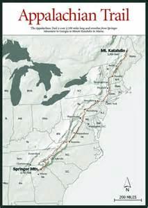 NC Appalachian Trail Map
