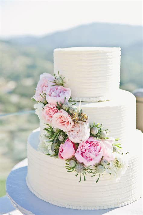 Malibu Mountaintop Vineyard Wedding Wedding Cakes With