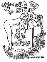 Coloring Mush Smell Grande sketch template