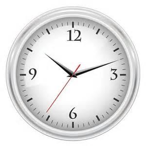 Horloge De Bureau Pc by Horloge De Bureau Blanc T 233 L 233 Charger Des Vecteurs