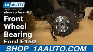 How To Replace Front Wheel Bearing Hub Assembly 04