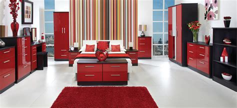 red bedroom furniture red gloss bedroom furniture splendid bedroom small room   red gloss