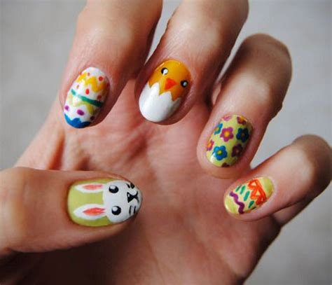 easter nail art designs ideas  modern fashion blog
