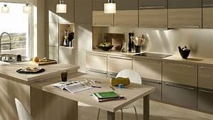 Cuisine Bois Clair : cuisine moderne bois inspirations et cuisine moderne bois ~ Melissatoandfro.com Idées de Décoration
