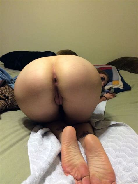 37 Bent Over Wife Ready For Anal Sex Close Up Pussy