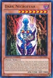 dark necrofear lc03 en002 ultra rare 1st edition