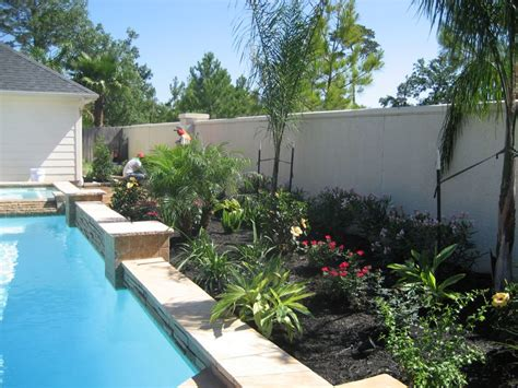 pool tropical landscaping ideas simple landscape ideas pools and landscaping ideas rockshox