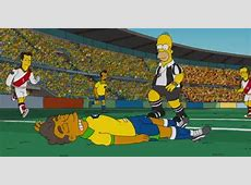 Did Homer Simpson prophesize Neymar's injury v Colombia