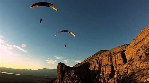 These Guys Paraglide To Their Campsites