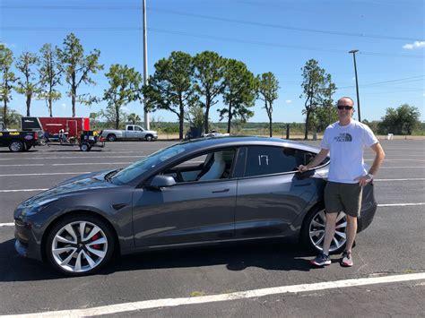 Download Tesla 3 Performance Quarter Mile Gif