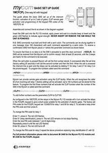 Basic Set Up Guide 1mcfcpl One Way Kit With Keypad