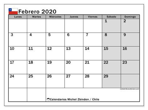 calendario febrero chile michel zbinden es
