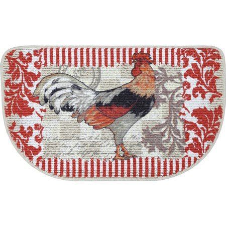 Kitchen Mat Rooster by Mainstays Rooster Printed Slice Kitchen Mat 18 Quot X 30