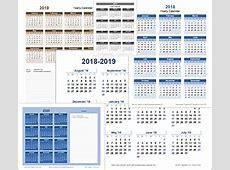 Free Calendars and Calendar Templates Printable Calendars