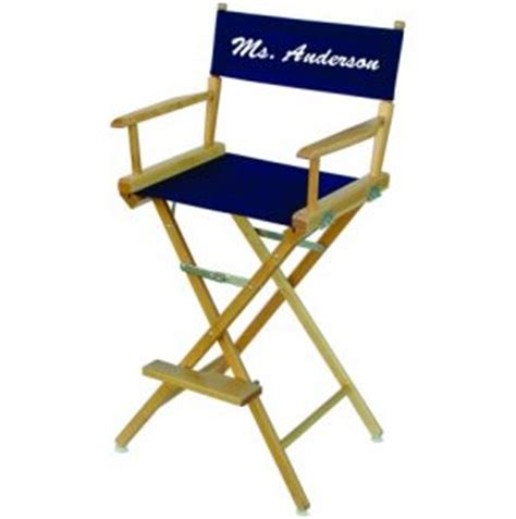 personalized directors chair for teacher custom