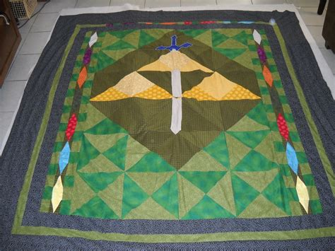 Quilting On A Whim Legend Of Kitty Zelda Cat This Quilt