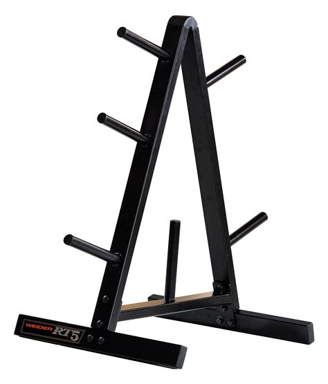weider standard weight plate storage rack  durable
