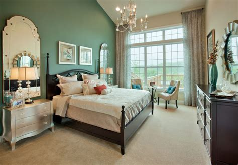 Home Design Bedroom Interior Marvelous Green Mixed White