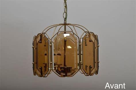 luminaire chambre fille relooker un lustre vintage des ées 70 déconome