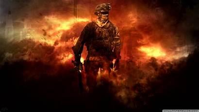 Duty Call Wallpapers Warfare Modern Desktop Games