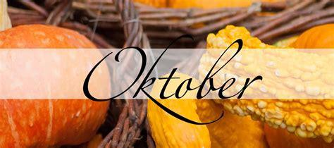 Oktober, der Monat der Ordnung - Practical Magic Magazin