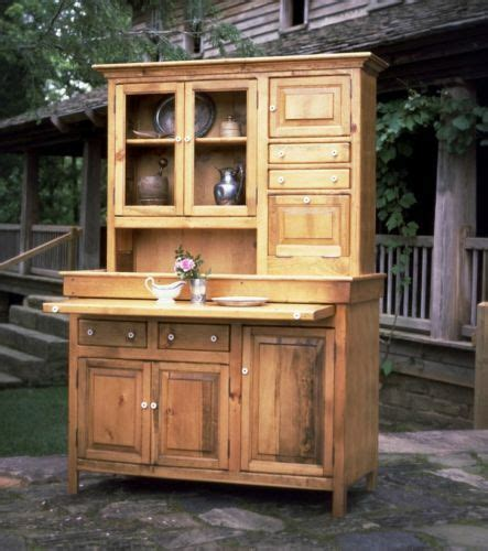 Antique Hoosier Cabinet by Large Pine Hoosier Cabinet Antique Reproduction Made In