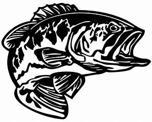 bass decal md5 vinyl fishing boat sticker wildlife decal With kitchen colors with white cabinets with memorial stickers for car windows