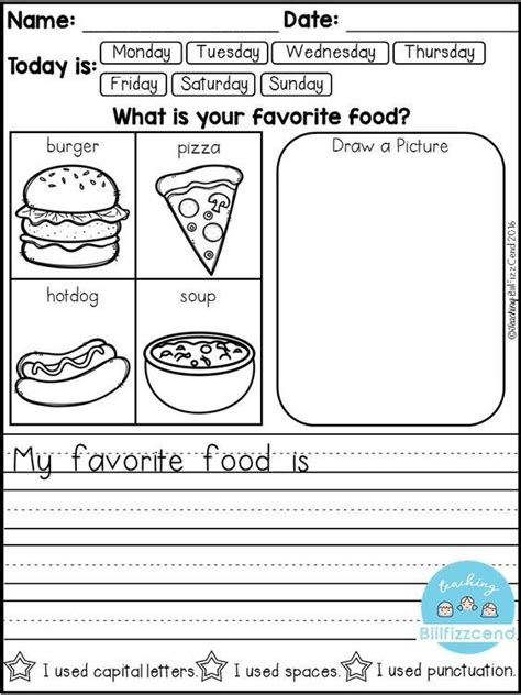 Free Daily Writing Prompts  Education  Pinterest  Kindergarten Writing Prompts, Kindergarten