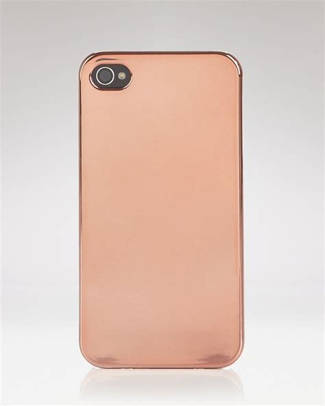 rosegold iphone iphone gold iphone shell