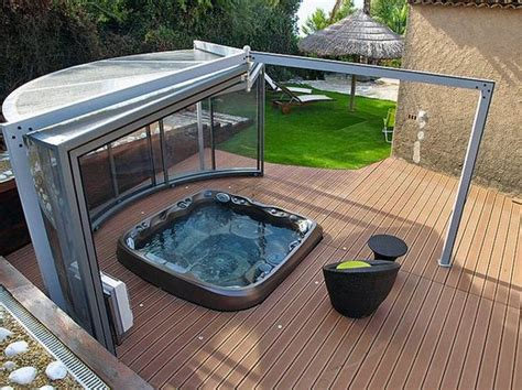 Outdoor Tubs For Sale by 22 Outdoor Living Spaces With Tubs And Beautiful