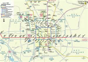 metro map of china: metro map of beijing