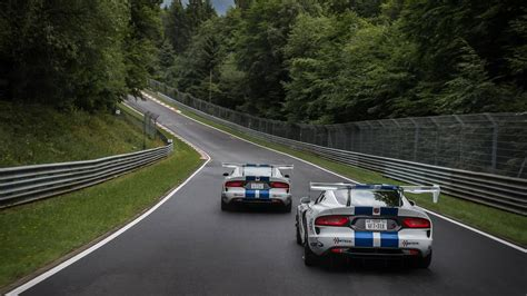 Viper Acr Nurburgring Time by Dodge Viper Acr Prepares For N 252 Rburgring Record Assault