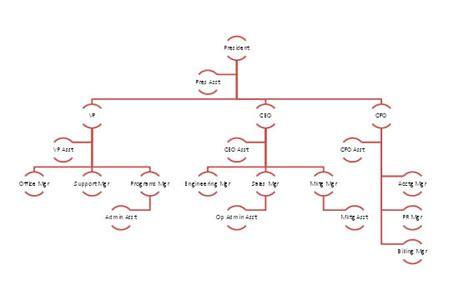 blank organizational chart samples