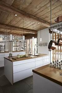 La cuisine blanche et bois en 102 photos inspirantes for Idee deco cuisine avec cuisine Équipée scandinave