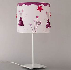 luminaire fille lampe et suspension chambre fille With déco chambre bébé pas cher avec mix fleur de bach