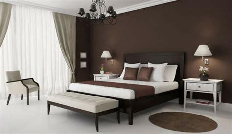 wandfarbe für schlafzimmer braune wandfarbe für eine gemütliches ambiente im zimmer archzine net