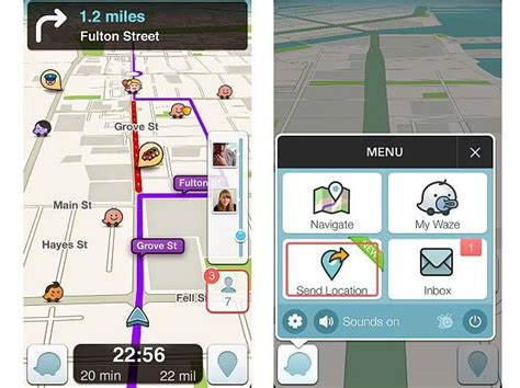 waze android app updates waze traffic app for its android and ios