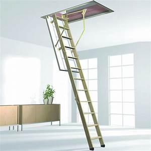 Escalier Escamotable Grenier : escalier bois escamotable coupe feu escalier escamotable ~ Melissatoandfro.com Idées de Décoration
