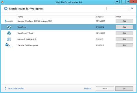 Installing Wordpress, Php, And Mysql On