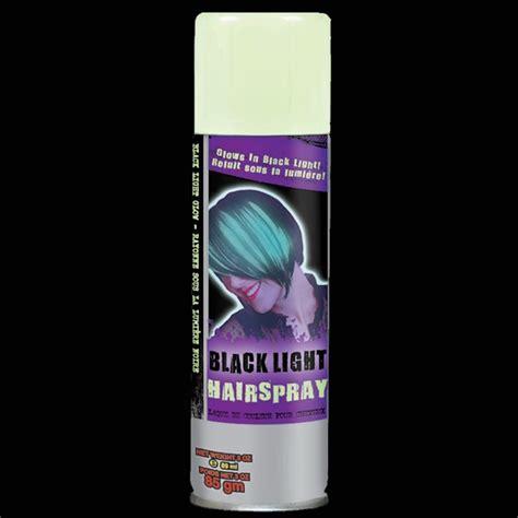 printed black light hair spray usimprints