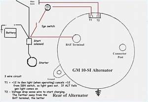 Basic 3 Wire Alternator Wiring Question Wiring Diagram