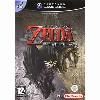 Zelda Twilight Princess Gamecube Legend Games Nintendo