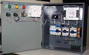 Star Delta Starter Motor Control Panel  Control Panel