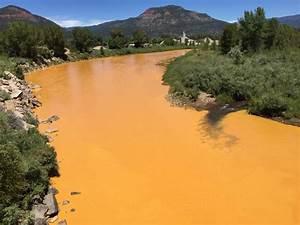 Massive EPA Waste Spill Turns River in Colorado Orange