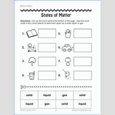 Matter Worksheets Marinaradetinfo