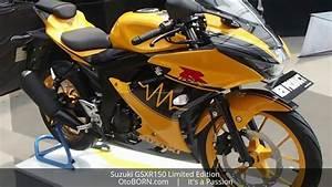 Suzuki Gsxr150 Yellow Limited Edition