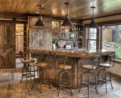 Bar Designs Photos by 15 Distinguished Rustic Home Bar Designs For When You