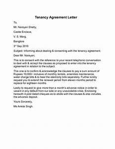 tenancy agreement letter sample free download With renewal of tenancy agreement letter template