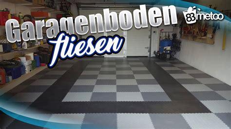 pvc fliesen garage garagenboden fliesen mit pvc bodenbelag fortelock garagenboden im schachbrett muster